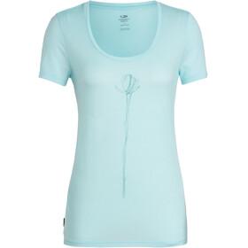 Icebreaker Tech Lite Solo - Camiseta manga corta Mujer - Turquesa